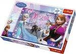 Puzzle 260 Trefl 13195 Frozen - Miłość w Krainie Lodu