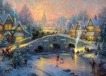 Puzzle 1000 Schmidt 58450 Thomas Kinkade - Duch Bożego Narodzenia