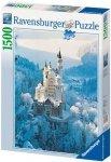 Puzzle 1500 Ravensburger 162192 Zamek Zimą