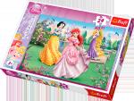 Puzzle 24 Maxi Trefl 14135 Księżniczki - Przy Fontannie