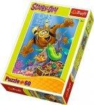 Puzzle 60 Trefl 17287 Scooby Doo - Nurkowanie