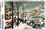 Puzzle 1000 Piatnik P-5523 Bruegel - Myśliwi na Śniegu