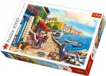 Puzzle 1000 Trefl 10527 Słoneczny Bulwar