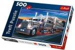 Puzzle 500 Trefl 37121 Srebrna Ciężarówka