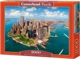 Puzzle 2000 Castorland C-200573 New York - Dwie Wieże