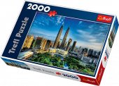 Puzzle 2000 Trefl 27075 Petronas Twin Towers