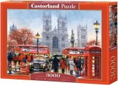 Puzzle 3000 Castorland C-300440 Londyn - Katedra Westminster Abbey