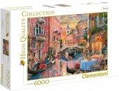 Puzzle 6000 Clementoni 36524 Zachód Słońca nad Wenecją