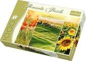 Puzzle 1000 Trefl 10410 Słoneczna Toskania - Romantic