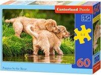 Puzzle 60 Castorland B-06946 Dwa Pieski