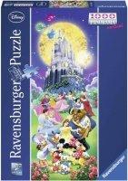 Puzzle 1000 Ravensburger 150564 Zamki Disneya - Panorama