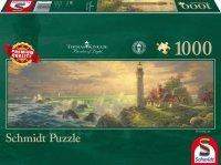 Puzzle 1000 Schmidt  59477 Thomas Kinkade - Latarnia Morska - Panorama
