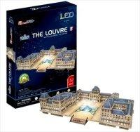 Puzzle 3D CubicFun 137 The Louvre L517h