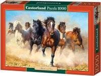 Puzzle 1000 Castorland C-102891 Konie - Copy of Thunder and Dust
