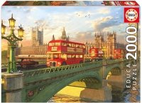 Puzzle 2000 Educa 16777 Westminster Bridge London