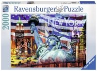 Puzzle 2000 Ravensburger 166879 New York - Kolaż