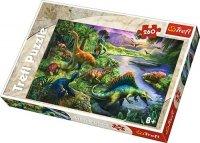 Puzzle 260 Trefl 13214 Dinozaury