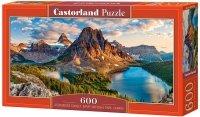 Puzzle 600 Castorland B-060023 Assiniboine Zachód Słońca - Park Narodowy Banff - Kanada