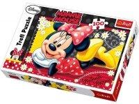 Puzzle 100 Trefl T-16193 Wesoła Minnie