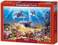 Puzzle 500 Castorland B-51014 Dolphins Underwater