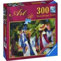 Puzzle 300 Ravensburger 140244 Macke - Dziewczyny w Zieleni