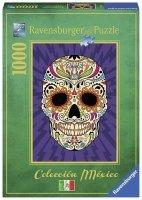 Puzzle 1000 Ravensburger 196869 Mexico - Meksykańska Czaszka
