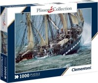 Puzzle 1000 Clementoni 39350 Plisson Collection - Żaglowiec