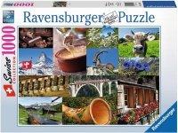Puzzle 1000 Ravensburger 195176 Szwajcarskie Klimaty