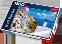 Puzzle 1500 Trefl 26119 Santorini - Grecja