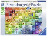 Puzzle 1500 Ravensburger 163229 Beautiful Colors