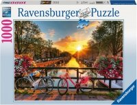 Puzzle 1000 Ravensburger 196067 Rowery w Amsterdamie