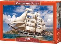 Puzzle 500 Castorland B-52851 Żaglowiec
