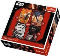 Puzzle 4w1 Trefl T-34263 Star Wars
