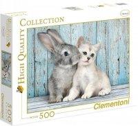 Puzzle 500 Clementoni 35004 Zając i Kot