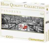 Puzzle 1000 Clementoni 39386 Amsterdam - Rower - Panorama