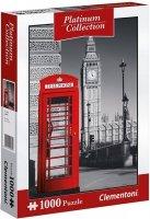 Puzzle 1000 Clementoni 39397 Platinum - Londyn