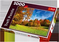 Puzzle 2000 Trefl 27073 Pieniny - Przełęcz Chwała