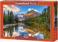 Puzzle 500 Castorland B-52455 Jezioro w Górach - Morning Sunlight in the Rockies
