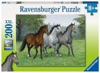 Puzzle 200 Ravensburger 126323 Trzy Konie