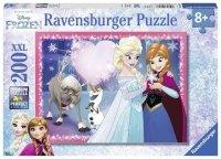 Puzzle 200 Ravensburger 128266 Frozen - Siostrzana Miłość