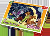 Puzzle 100 Trefl T-16197 Scooby Doo - Kudłaty i Wesoły Duszek