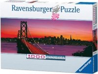 Puzzle 1000 Ravensburger 151042 San Francisco - Panorama