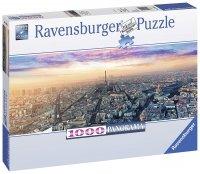 Puzzle 1000 Ravensburger 150892 Paryż o Świcie - Panorama
