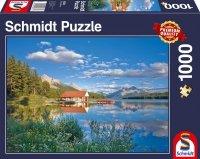 Puzzle 1000 Schmidt 58334 Weekend nad Jeziorem