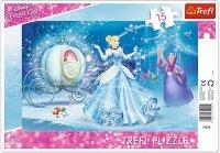 Puzzle Ramkowe 15 Trefl 31229 Księżniczki - Magiczna Noc