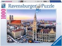 Puzzle 1000 Ravensburger 194261 Monachium