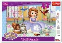 Puzzle Ramkowe 15 Trefl 31204 Księżniczka Sofia