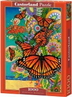 Puzzle 1000 Castorland C-103492 Motyle - Monarch Madness