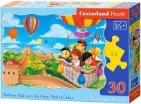 Puzzle 30 Castorland B-03648 Lot Balonem nad Chinami