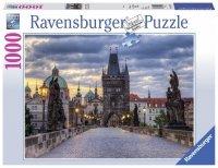 Puzzle 1000 Ravensburger 197385 Most Karola - Praga